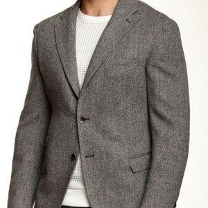 Men's L.L.Bean Wool Herringbone Bla…